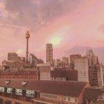 What a way to start the week. Instagrammer james_knottbond captured pink skies over #Sydney https://t.co/BGVxqZNXwe