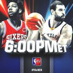 Coming up at 6pm/et on @NBATV... the @Sixers visit the @MemGrizz. #PHIatMEM https://t.co/qqun72oGpn