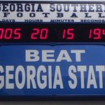 Georgia Southern FB Seniors GATA In Paulson Stadium For The Last Time This Saturday At 2:00! #GATA #SouthernNotState https://t.co/4tCKyoDkCR