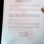 ???? Decreto Canónico de nombramiento de @milagrosagrupo como nueva HERMANDAD DE PENITENCIA | https://t.co/jRzZC18ESH https://t.co/cQTbxDvc1s