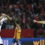 """.@SerEscudero89: """"Estoy feliz por el resultado, por el gol y por el debut"""" #vamosmisevilla https://t.co/wGQEXRsEtS https://t.co/8youZ7z1Vn"""