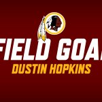 Its good! #Redskins on the board first with a @Dahop5 41-yard FG. #Redskins 3 - Giants 0; 12:23 left in 2Q. https://t.co/h7kvaxY1zu