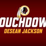 Kirk Cousins DEEEEEEEEEP to DeSean Jackson! 63 yards & the score. #WeLikeThat https://t.co/BlWbFn1HUB