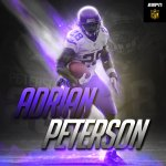 Adrian Peterson has moved into the Top 20 on the NFLs all-time rushing yards list. https://t.co/h4CIfvks6G