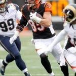 Tyler Eifert hauls in his NFL-leading 12th touchdown of the season. Bengals extend lead to 17-7 vs Rams. https://t.co/lacPhk1tQW