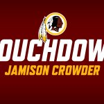 TOUCHDOWN FOR THE ROOKIE!  Jamison Crowders 4-yard grab puts the #Redskins on the board again. https://t.co/QgAIBREOLK