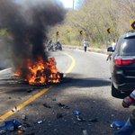 #Accidente sobre la Carretera Federal No. 200 entre Huatulco y Salina Cruz a la altura de #SantaMariaHuamelula #Oax https://t.co/seQJrWALzp