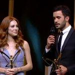 En yakışan çift ödülü #KiralıkAşk @elcnsng & @baris_arduc #PanteneAltınKelebek eyyttt beee https://t.co/4cVrgUNP27