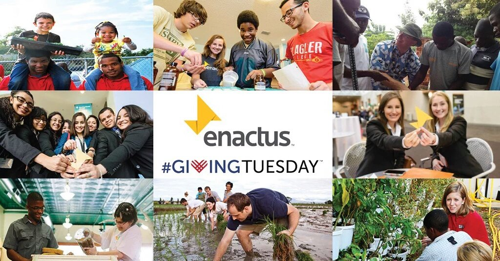 Help impact millions of lives thru social enterprise. Please support Enactus on #GivingTues https://t.co/OrlKnU3CFq https://t.co/3DNrcunghv