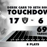 8 plays. 69 yards. #Touchdown https://t.co/GB9rkXsThQ