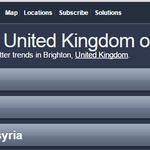 #Brighton bang on trend yet again: #DontBombSyria (via @TrendsBrighton) https://t.co/ETzZ3NL44X