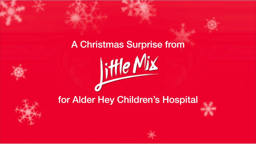 Help us & @LittleMix reveal our EPIC #Christmas surprise for @AlderHeyCharity! RT to reveal