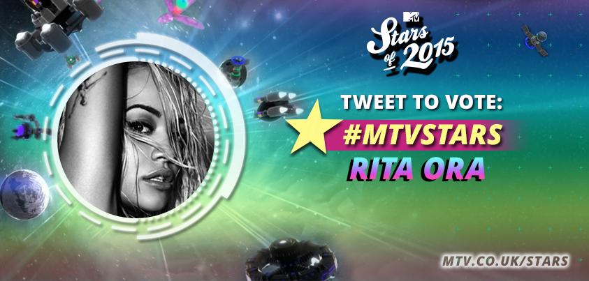 RT @MTVMusicUK: Vote for @RitaOra using #MTVStars Rita Ora   or RT this tweet! 1 RT = 1 vote! https://t.co/1hbb1gB5GH https://t.co/HxQrTQnd…