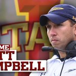 Welcome to #CyclONEnation - Iowa State Football​ Coach Matt Campbell! https://t.co/HTcg1qPvfy https://t.co/ZlPoaKvsuz
