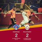 MAÇ SONUCU   Kasımpaşa 2-2 Galatasaray https://t.co/i61656r8ny