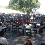 Banda de Música del Instituto Cultural Calmecac, Bajo la dirección de Nathanael Lorenzo Hernández #Oaxaca @GabinoCue https://t.co/FHQESzX4PB