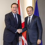 Bilateral meeting with PM @David_Cameron this evening on UK renegotiation https://t.co/bOmmg05E6B