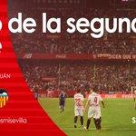 Comienza la segunda mitad con cambio en el @valenciacf, entra Rúben Vezo por Santi Mina #vamosmisevilla #SFCvVCF https://t.co/9yhShKIfBd