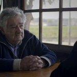 """#MujicaDeVuelta Pepe: """"El poder es como unos zapatos nuevos que te aprietan, cuando te los quitas te liberas"""" https://t.co/aUr2Vt5DEf"""