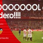 Gooooooooool del #SevillaFC, gooooooool de @SerEscudero89 en el 50 de partido, espectacular pase de @Ever10Banega https://t.co/ilqFqQyM8J