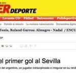 """Donde pone """"al"""" debía poner """"del"""", un saludo. @superdeporte_es https://t.co/LCUHbT90Xa"""