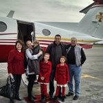 The newest Cyclone family boards the ISU plane in Toledo for their maiden - Welcome to the Cyclone Family! https://t.co/9BanQKOLMp