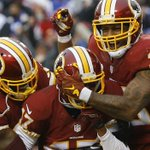 #Redskins defeat Giants, 20-14, to enter first place in the NFC East. READ MORE | https://t.co/p1rEvjU7vn https://t.co/nuxQgQ2Wnm