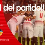 Final en Nervion #SevillaFC 1-0 @valenciacf #vamosmisevilla #SFCvVCF https://t.co/pyyox4osdO