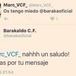 Que grande el CM del @barakaoficial! Así contesta a un tweet de un aficionado del Valencia https://t.co/JoLVp7gRmL