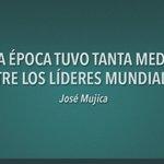 Después de conocer a muchos líderes mundiales, a #MujicaDeVuelta le cuesta destacar a alguno... Un silencio largo... https://t.co/PChwtAFmVX