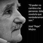"""""""El poder no corrompe a las personas, sólo revela lo que verdaderamente son."""" #MujicaDeVuelta https://t.co/k32hCprDAG"""