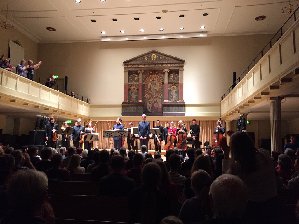 Wonderful concert today with @WGoodchildMusic & @BristolEnsemble & @charliesiem #Bristol #concert https://t.co/iwmkpAjQZq
