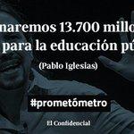 La semana que viene inauguramos el #prometómetro. Entre sus protagonistas, Pablo iglesias #ObjetivoIglesias https://t.co/8Ckd9O7avd