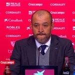 """Nuno: """"Ha sido un orgullo ser entrenador del Valencia. Quiero agradecer a los jugadores cada día de su trabajo"""". https://t.co/hiyyINZisd"""
