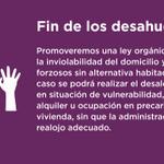 Acabar con los desahucios forzosos sin garantizar una alternativa habitacional #ObjetivoIglesias https://t.co/kWzlv9zmOD