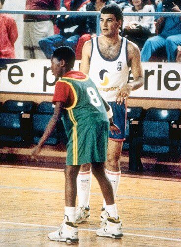 Kobe Bryant at age 11 playing against adults in Italy. https://t.co/YNbGLl9mTk