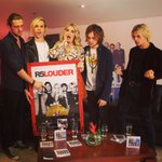 Our first plaque! Thanks Colombia and Peru!! #LOUDER #R5family https://t.co/4AlRsMX29D