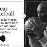 """Dear Basketball,"" by Kobe Bryant (via @PlayersTribune) https://t.co/LxzJD9cOoh"
