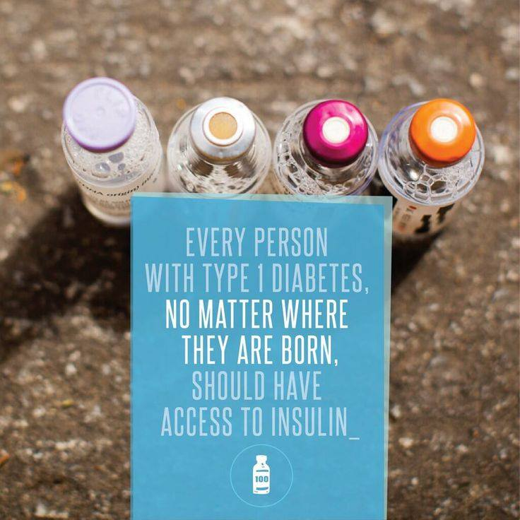 Every person w/ type 1 #diabetes should have access to insulin.   via https://t.co/TGBoU1hluS https://t.co/Izq2QT31C9