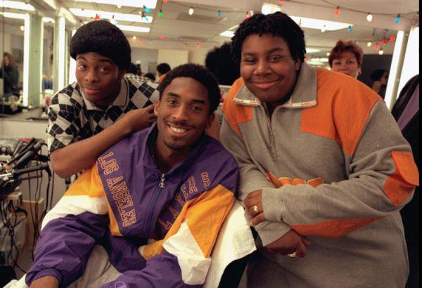 SI has roughly 10,000 photos of Kobe Bryant in action but none as good as this shot of him with Kenan & Kel. https://t.co/rnWAORcjfz