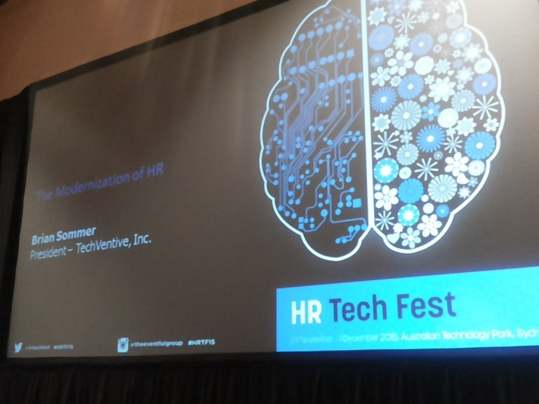 Let's do this #HRTF15 @HRTechFest https://t.co/313TkYOnPp