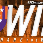 SHARE THE WIN || Clemson defeats UCSB, 3-2 to advance to the Elite Eight! Bring on Maryland! #ClemsonUnited https://t.co/9zOKOc2iFF
