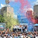 Gracias Venezuela! la Campaña #PorLaLibertad es un mensaje de Fuerza, Fe y del Cambio que ya comenzó! https://t.co/53Rw6StwPz
