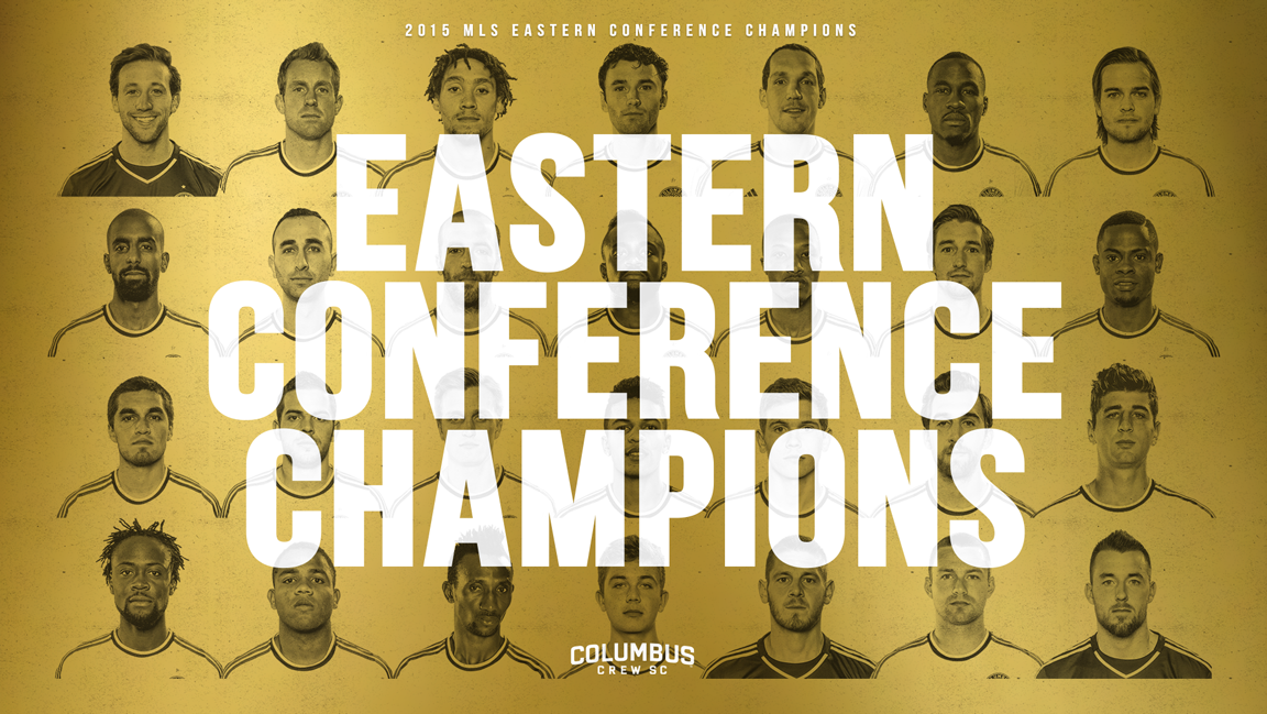 Your 2015 Eastern Conference Champions!!! #CrewSC #ForColumbus https://t.co/mf0B9sIkkA