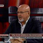 """[VIDEO] Carlos Bruce señaló que César Acuña caerá """"muy rápido"""" en las encuestas https://t.co/0wEs4lfJ19 https://t.co/sgi6C6bWdj"""