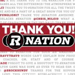 Thank you for your unwavering support, #RNation! We ❤ you! https://t.co/vc8OySJMf0