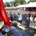 @TeamAFP sec Voltaire Gazmin sa Monimento ni Gat Andres Bonifacio infront of Phil Army HQ Fort Bonifacio @dzrhnews https://t.co/vvGjnymugi