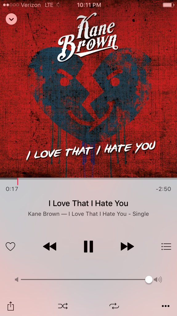 go scoop a new @kanebrown tune i cowrote that just hit itunes! fun little song about hatin your ex & lovin it. haha https://t.co/fCuGhQuY02