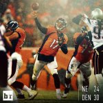 UNDEFEATED NO MORE. The Broncos knock off the Patriots! https://t.co/kF05w7F1b9