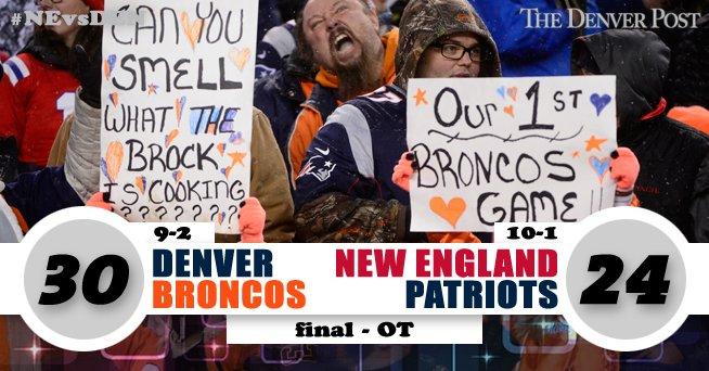 Anderson with the 48-yard walk-off TD run #Broncos 30, #Patriots 24  GAMETRACKER: https://t.co/pWkjB0vhTO #NEvsDEN https://t.co/mc0bNB9KAz
